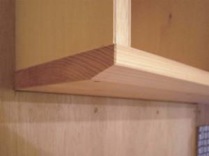 (before)キッチン吊り棚のアップ